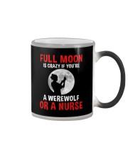 Nurse - Full Moon Color Changing Mug thumbnail