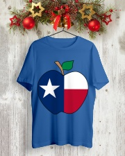 Texas - National Teacher Day Classic T-Shirt lifestyle-holiday-crewneck-front-2