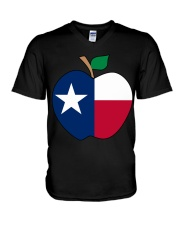 Texas - National Teacher Day V-Neck T-Shirt thumbnail