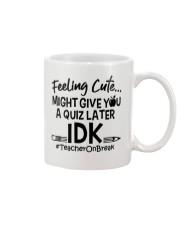 Teacher - Give you a Quiz Mug thumbnail