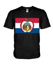 For Teacher in Missouri  V-Neck T-Shirt thumbnail