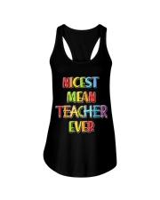 Teacher - Nicest Teacher Ever Ladies Flowy Tank thumbnail