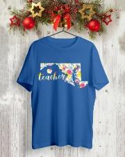 Maryland Teacher Classic T-Shirt lifestyle-holiday-crewneck-front-2