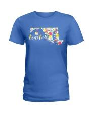 Maryland Teacher Ladies T-Shirt thumbnail