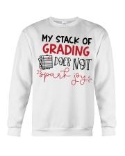 Teacher - Stack of grading Crewneck Sweatshirt thumbnail