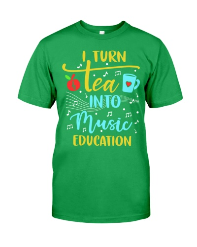Music Teacher - I Turn Tea