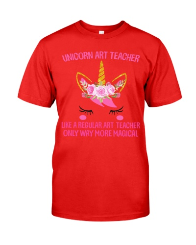 Art Teacher - Unicorn