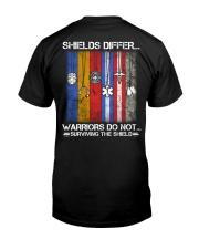 Shields Differ - Warriors Classic T-Shirt back