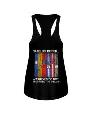 Shields Differ - Warriors Ladies Flowy Tank thumbnail