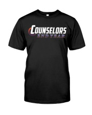 Counselors End Year Classic T-Shirt front