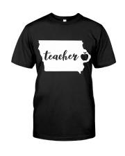 Iowa Teacher - Map Premium Fit Mens Tee thumbnail
