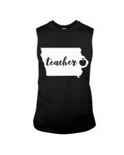 Iowa Teacher - Map Sleeveless Tee thumbnail