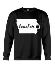 Iowa Teacher - Map Crewneck Sweatshirt thumbnail