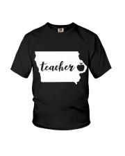 Iowa Teacher - Map Youth T-Shirt thumbnail
