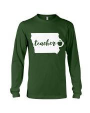 Iowa Teacher - Map Long Sleeve Tee thumbnail