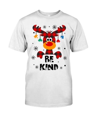 Sped Teacher - Be kind Handsign - Christmas shirt