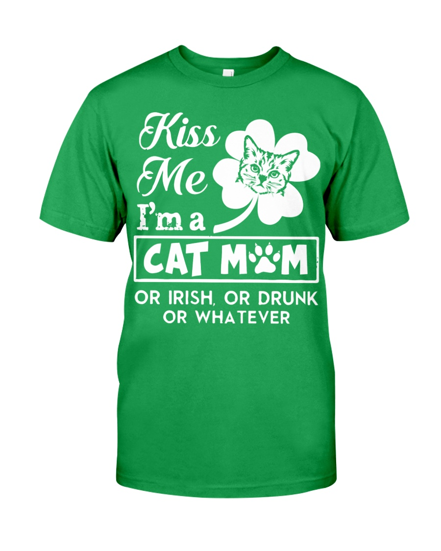 Kiss me I'm a Cat Mom Classic T-Shirt