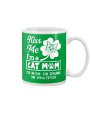 Kiss me I'm a Cat Mom Mug thumbnail