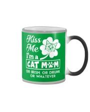 Kiss me I'm a Cat Mom Color Changing Mug thumbnail