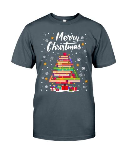 Books Christmas Tree