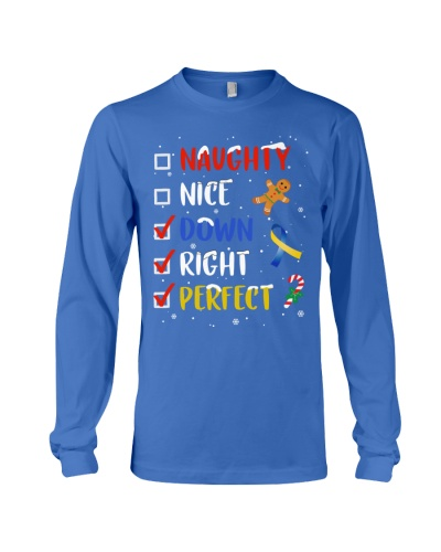 Down Syndrome - Nice Naughty - Christmas Gift