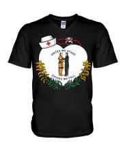Kentucky - National Nurse Day V-Neck T-Shirt thumbnail