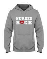 Nurses Rock Hooded Sweatshirt thumbnail