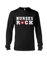 Nurses Rock Long Sleeve Tee thumbnail