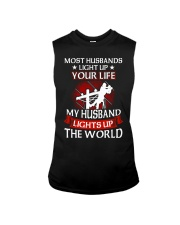 Lineman - Husband Light Up Sleeveless Tee thumbnail