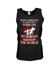 Lineman - Husband Light Up Unisex Tank thumbnail