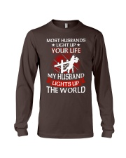 Lineman - Husband Light Up Long Sleeve Tee thumbnail