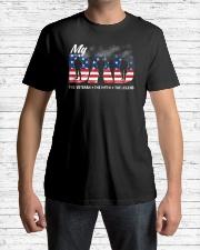 Veteran Dad - The Veteran - The Myth - The Legend Classic T-Shirt lifestyle-mens-crewneck-front-1