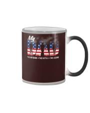 Veteran Dad - The Veteran - The Myth - The Legend Color Changing Mug thumbnail