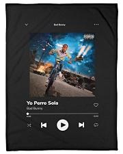 "Bad Bunny - Yo Perreo Sola - La Muerte Bella Small Fleece Blanket - 30"" x 40"" thumbnail"