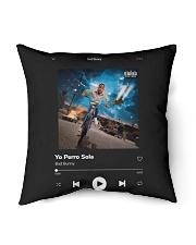"Bad Bunny - Yo Perreo Sola - La Muerte Bella Indoor Pillow - 16"" x 16"" thumbnail"