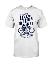 Live To Ride Premium Fit Mens Tee thumbnail