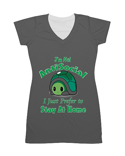 Stay at home Shirt for tortoise Lover