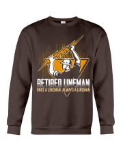 Retired Lineman Shirts Electrical Lineman Sweatshi Crewneck Sweatshirt thumbnail