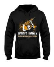 Retired Lineman Shirts Electrical Lineman Sweatshi Hooded Sweatshirt thumbnail
