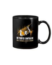 Retired Lineman Shirts Electrical Lineman Sweatshi Mug thumbnail