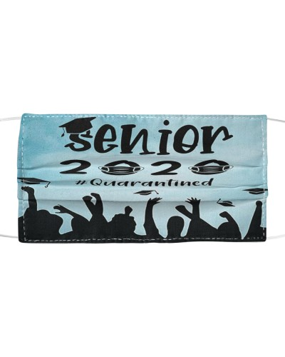 Senior 2020 Quarantined Facemask Graduation