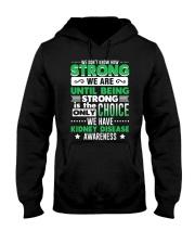 Kidney Disease Awareness Shirt  Hooded Sweatshirt thumbnail