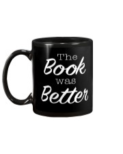 The Book Was Better Mug back