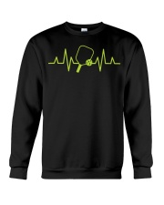 Pickleball Heartbeat Tee Pickleball Tee Crewneck Sweatshirt thumbnail