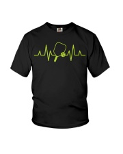 Pickleball Heartbeat Tee Pickleball Tee Youth T-Shirt thumbnail