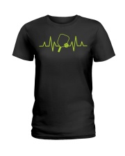 Pickleball Heartbeat Tee Pickleball Tee Ladies T-Shirt thumbnail