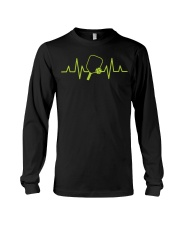Pickleball Heartbeat Tee Pickleball Tee Long Sleeve Tee thumbnail