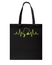 Pickleball Heartbeat Tee Pickleball Tee Tote Bag thumbnail