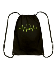 Pickleball Heartbeat Tee Pickleball Tee Drawstring Bag thumbnail