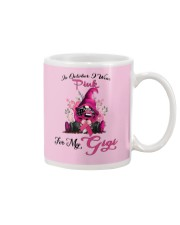 In October I Wear Pink For My Gigi Gnome Breast  Mug thumbnail